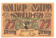 25 Pfennige (Goldap) – avers