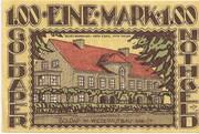 100 Pfennig – revers