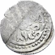 "Dirham ""Dang"" - Talabuga Khan  - 686 AH – avers"