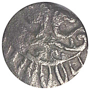 Pul - Jani Beg Khan (Saray al-Jadida mint - two-headed eagle type) – revers