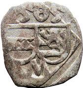 1 obol, 1 pfennig Massimiliano I – avers