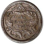 1 soldo - Maria Theresa – revers