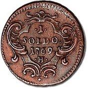 1 soldo - Maria Theresia – revers