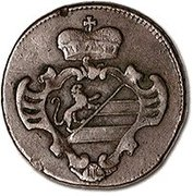 1 soldo - Joseph II – avers