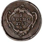 1 soldo - Joseph II – revers