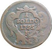 1 soldo - François II – revers