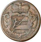 2 soldi - Karl VI – avers