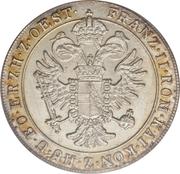 15 soldi / 8½ kreuzer Franz II – avers