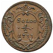 ½ Soldo - Carlo VI – revers
