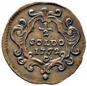 ½ soldo - Maria Theresa – revers