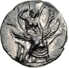 Stater (Gortyna) – avers