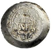 1 denier Engelbert III - Meinhard II (Lienz) – avers