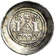 1 denier Engelbert III - Meinhard II (Lienz) -  revers