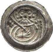 1 Pfennig (Matthiaspfennig) – avers