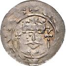 1 Pfennig - Heinrich V. – avers