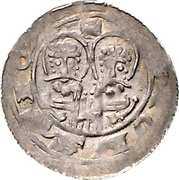 1 Pfennig - Heinrich V. – revers