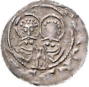 1 Pfennig - Heinrich IV. – revers
