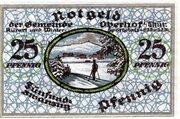 25 Pfennig (Oberhof) – revers