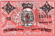 50 Pfennig (Oberhof) – avers