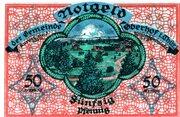 50 Pfennig (Oberhof) – revers