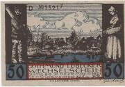 50 Pfennig (Gothmund - Lübecker Fischermeister) – avers