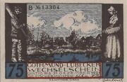 75 Pfennig (Gothmund - Lübecker Fischermeister) – avers