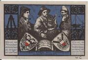 75 Pfennig (Gothmund - Lübecker Fischermeister) – revers