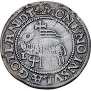 1 skilling Christian III (Copenhagen) – revers
