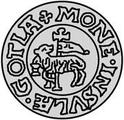 1 hvid Christian III (Copenhagen) – revers