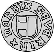 1 hvid Søren Norby (Visby) – avers
