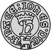 1 hvid Jean I (Visby) – avers
