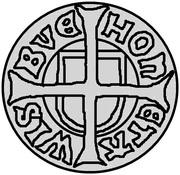 1 hvid Jean I (Visby) – revers
