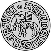 1 hvid Jean I (Visby; type 1) – revers