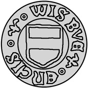 1 hvid Christian II (Visby; grand drapeau) – avers