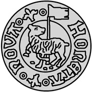1 hvid Christian II (Visby; grand drapeau) – revers