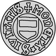 3 penning Christian I (Visby) – avers