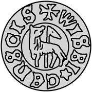 3 penning Christian I (Visby) – revers