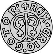 1 örtug Eric de Poméranie (Visby) – avers