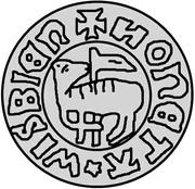 1 örtug Eric de Poméranie (Visby) – revers
