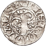 1 örtug (Visby; type 19) -  revers