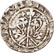 1 örtug (Visby; type 44a; racines longues) -  revers