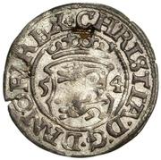 1 søsling Christian III (Copenhagen) – avers