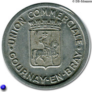 25 Centimes- Union commerciale - Gournay-en-Bray [76] – avers