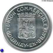 10 centimes - Union Commerciale Gournay-en-Bray [76] – avers