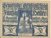 50 Heller (Grafenschlag) -  avers