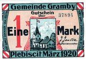 1 Mark (Gramby) – avers