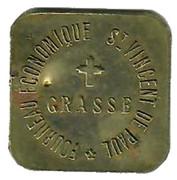 5 Centimes Fourneau Economique Saint Vincent de Paul Grasse 06 – avers