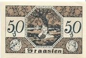 50 Pfennig (Graasten) – revers