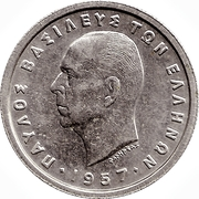 1 drachme (Royaume - Paul I) -  avers