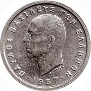 1 drachme (Royaume - Paul I) – avers